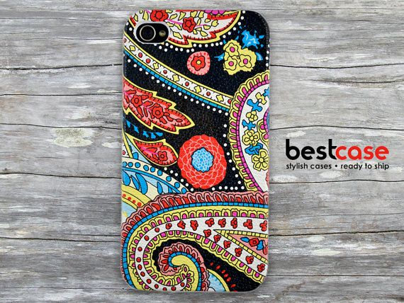 Floral iphone 4 case  iphone 4 cover  Decoupage iphone by BestCase, $14.99