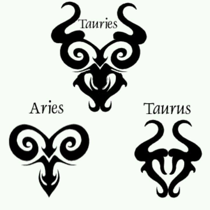 22 Best Aries Taurus Cusp Tattoos Images On Pinterest Astrology