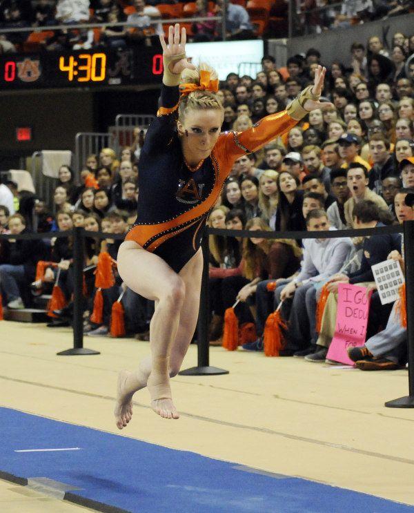 Brittany Webster Alabama vs Auburn Gymnastics on Friday, February 14, 2014 in Auburn, Ala. Anthony Hall