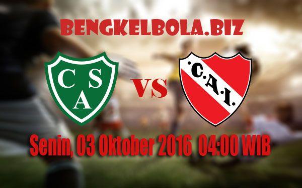 Prediksi Sarmiento Junin vs Independiente 03 Oktober 2016