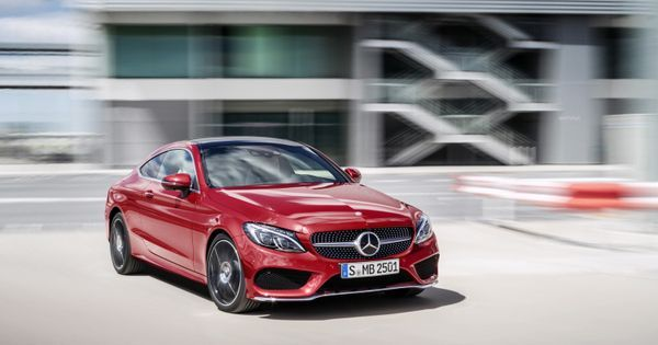 Mercedes-Benz C-Class Coupe looks just as banging as big brother   See more about Big Brothers, Mercedes Benz and Brother.