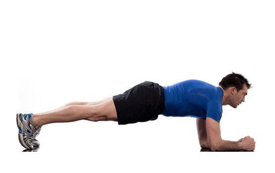 Level: Beginner · Pose: Plank (Chaturange Dandasana) [Stabilizer] · Benefits: Strengthening the wrists - Balancing the joints of the elbow and shoulder - Ab strengthener - Chest strengthener - Leg/ quadriceps strengthener - Elongate back - Increase respiration and circulation http://lovemyyoga.com/plank-pose.html