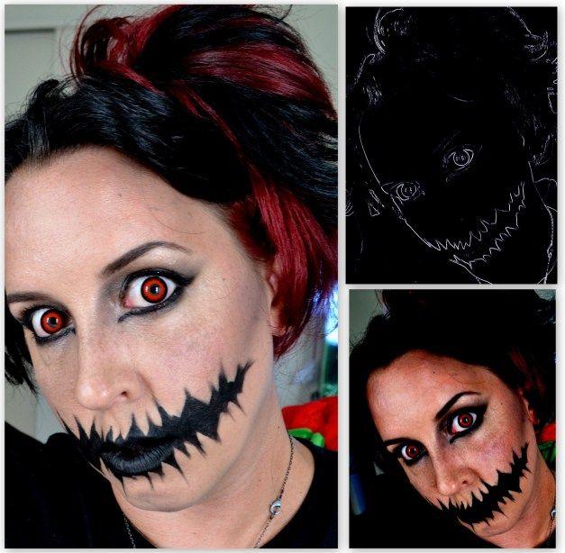 easy halloween makeup images