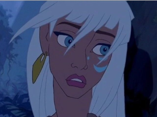 Which forgotten Disney girl are you?|I got Kida!!!|Who will you get?