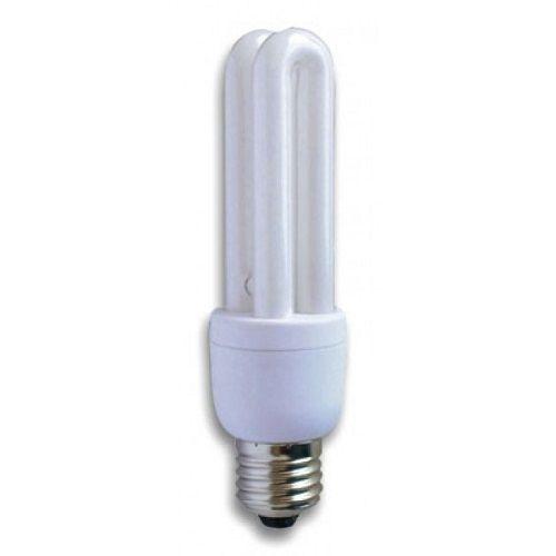 Lampadina due tubi E27 risparmio energetico 15W