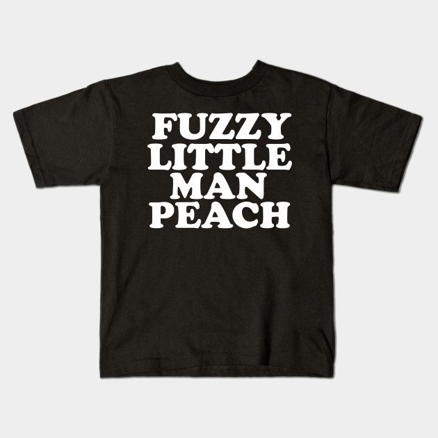 The Mighty Boosh - Fuzzy Little Man Peach (old Gregg) Young T-Shirt