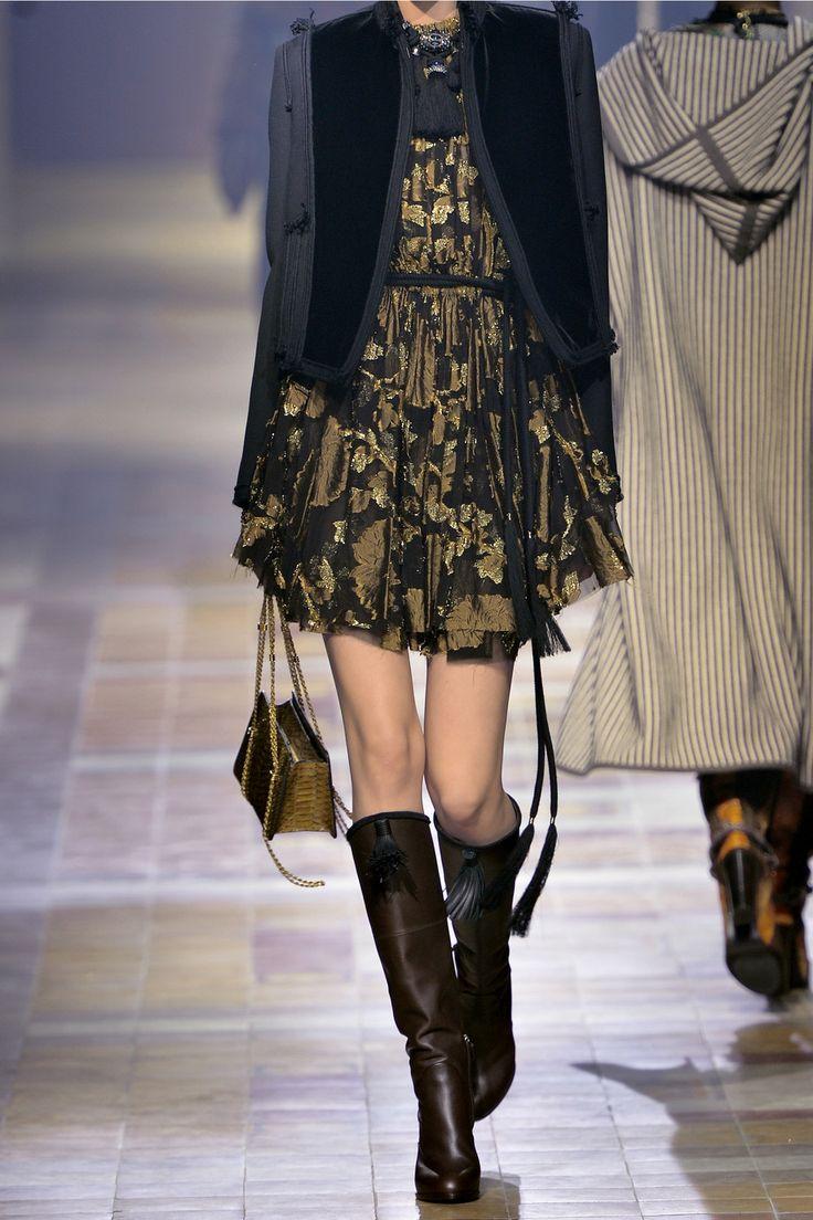 Shop on-sale Lanvin Cutout metallic fil coupé chiffon mini dress. Browse other discount designer Dresses & more on The Most Fashionable Fashion Outlet, THE OUTNET.COM