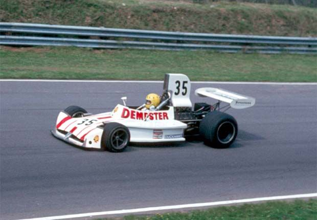Mike Wilds, Dempster Racing (March-Ford) 731 Brands Hatch 1974