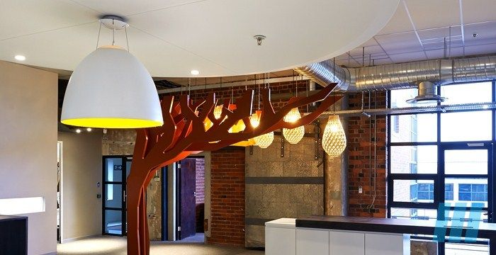 FutureSpaces - GBCSA Offices Cape Town - A testament of interior architecture living up to company vision. Winner of the Saint-Gobain Gypsum National Trophy in the Innovation category