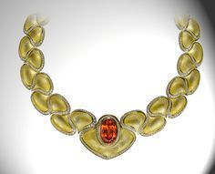 Henn of London Gallery Necklace in 18ct yellow gold