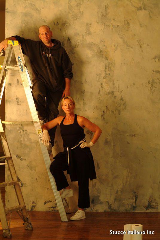 Distressed Stucco Walls Exterior: Interior Projects - Stucco Italiano