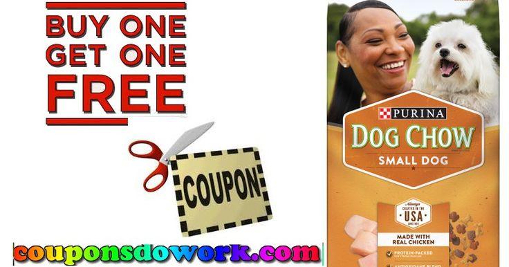 Purina Dog Chow Small Dog BOGO Coupon + 5 More Purina Deals - http://couponsdowork.com/coupon-deals/purina-dog-chow-small-dog-bogo-coupon-5-more-purina-deals/