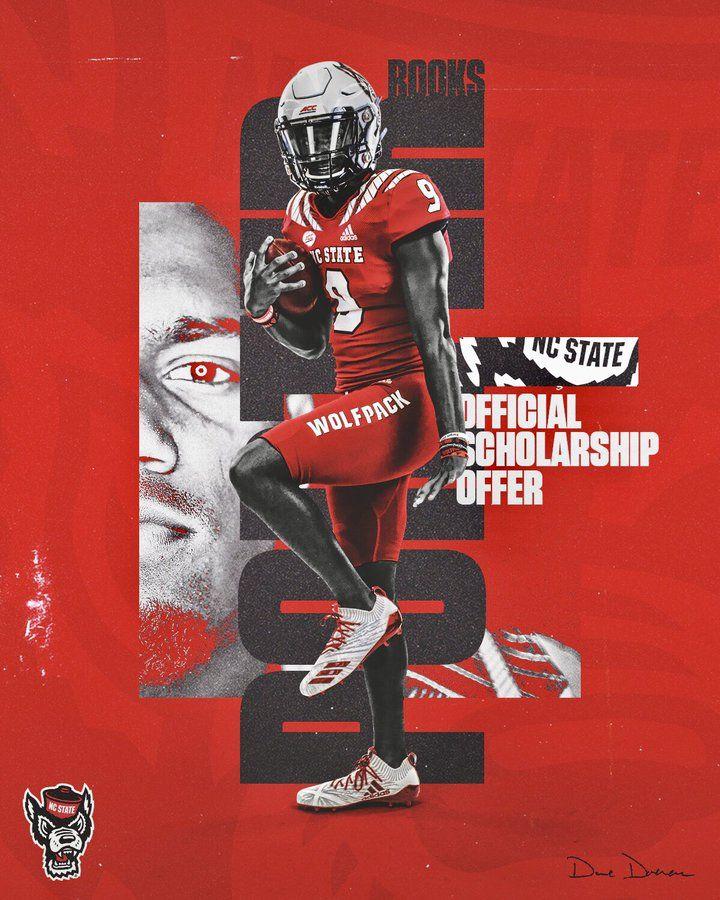 Nc State Sports Graphic Design Sport Poster Design Sports Design Inspiration