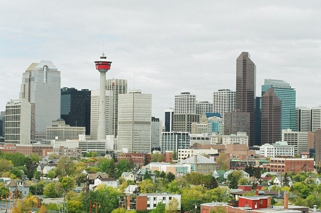 #Calgary, Canada (the city scores an overall rating of 96.6 out of 100)    Also avoided going through Calgary.