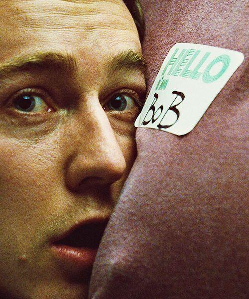 David Fincher, Edward Norton in Fight Club,1999.