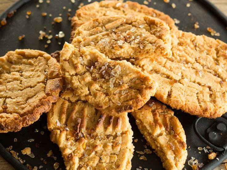 Glutenfreie Erdnussbutter-Cookies