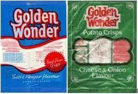 Image result for golden wonder crisps 1970s