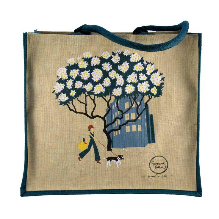Frangipani Tote Bag - Freddy's Bags