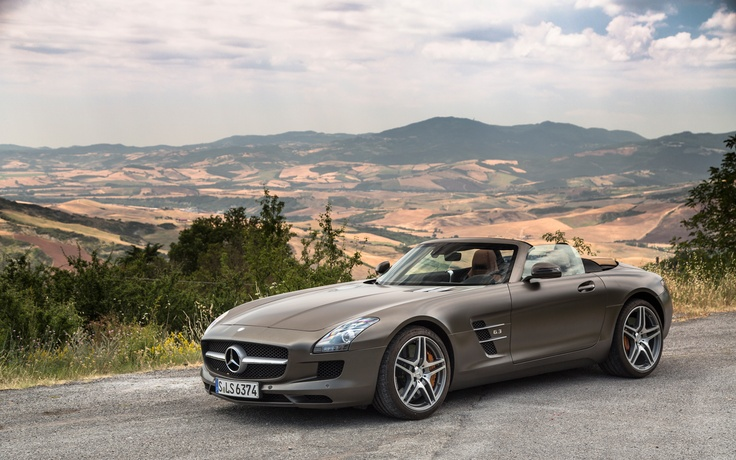 Image result for sls convertible