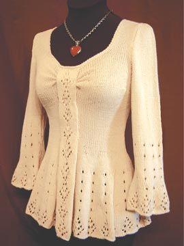 Evangeline Tunic by White Lies Designs