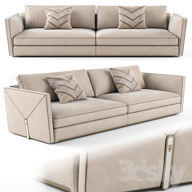 3d Models Sofa Visionnaire Bastian 3 Seater Sofa 01 With