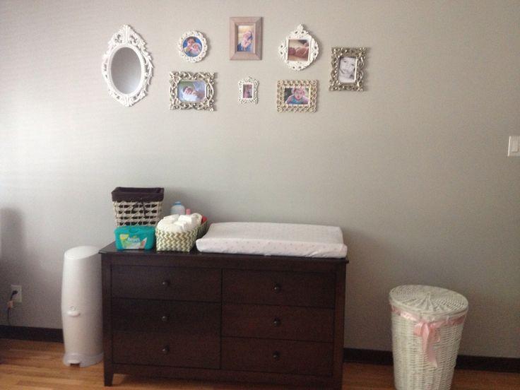 Baby girl nursery decor baby nursery ideas pinterest for Baby girl mural ideas