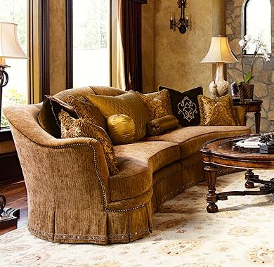 Tuscan Style Sofas Vintage Brown Tuscan Sofa Old Hickory Tannery Furniture Free TheSofa