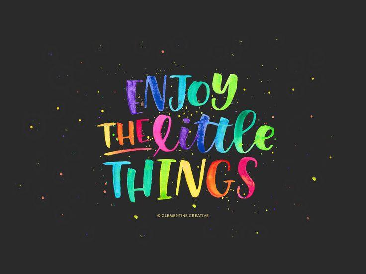 Free Wallpaper Enjoy The Little Things