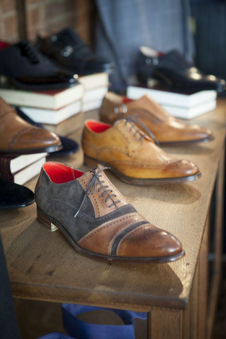 amazing two-tone shoe