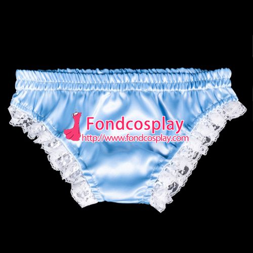 Free Shipping Sissy maid satin Panties cosplay costume Tailor-made[G2061] #Sissy maids http://www.ku-ki-shop.com/shop/sissy-maids/free-shipping-sissy-maid-satin-panties-cosplay-costume-tailor-made-g2061/