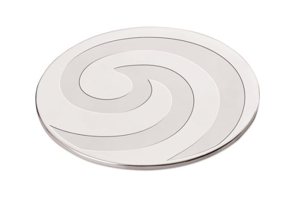 Carrol Boyes Coaster Set - Stir it Up Stainless Steel. 2 per set. All products are designed to be discreetly branded.
