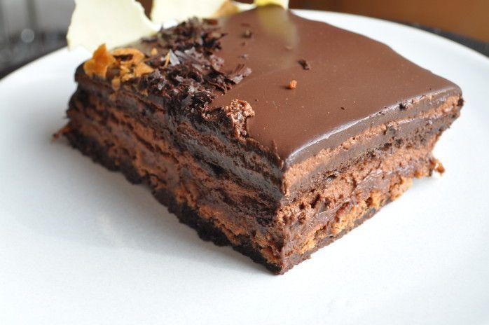 mousse chocolat croustillant