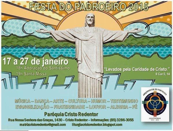 F.G. Saraiva: Paróquia Cristo Redentor festeja São Paulo Apóstol...