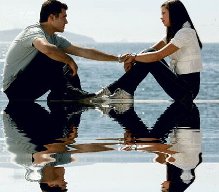 Couple - Femme - Amour - Gif animé - Gratuit