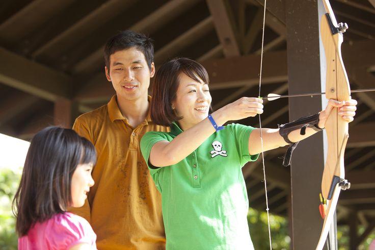 Club Med  Ishigaki Archery  クラブメッド 石垣島 沖縄 アーチェリー