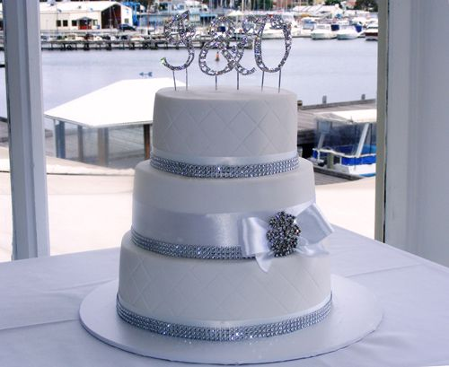 how to make a bling wedding cake stand 117 best wedding anniversary cakes images on 15792