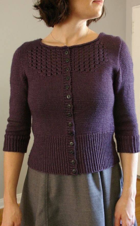 Audrey Sweater by MarrieB | Project | Knitting / Cardigans & Sweaters | Kollabora #diy #kollabora #knitting #cardigan