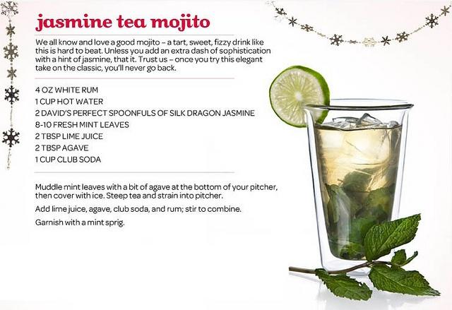 Jasmine Tea Mojito copy by DAVID'sTEA, via Flickr