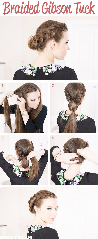 Pour les jours où vous n'avez pas beaucoup de temps mais que vous avez quand même envie d'une coiffure stylée, ces 15 nouveaux tutos étape par étape pour faire des...
