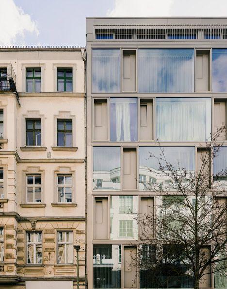 Building cooperative cb19 by Zanderroth Architekten
