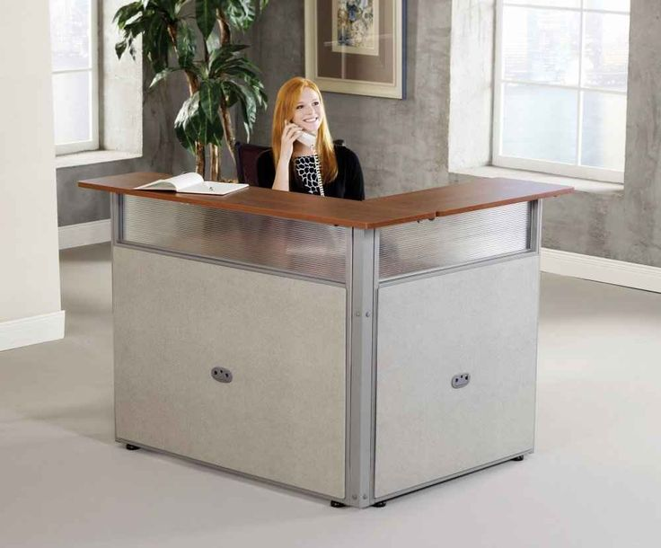 fabulous small reception desk home desk design ideas - Reception Desk Designs