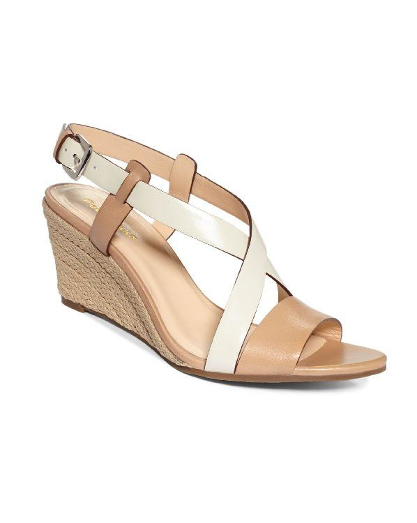 COLE HAAN Taylor Wedge Sandals