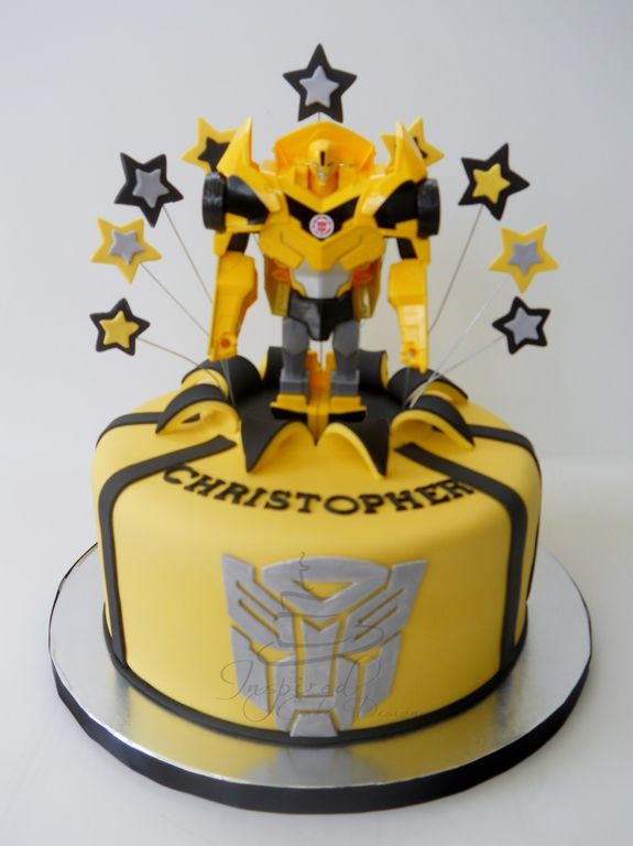 Transformers Quot Bumblebee Quot Cake My Cakes Cake Birthday