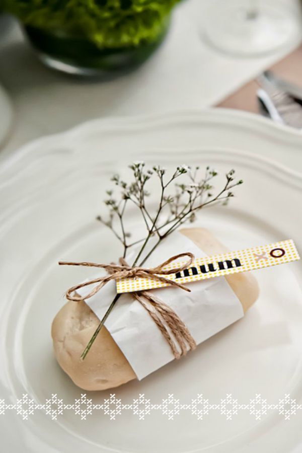 Bread place card