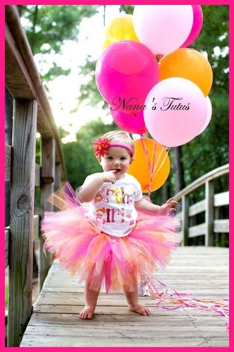 Is it bad I'm already looking for 1st birthday outfits?! lol love this... yes the pink in it too!
