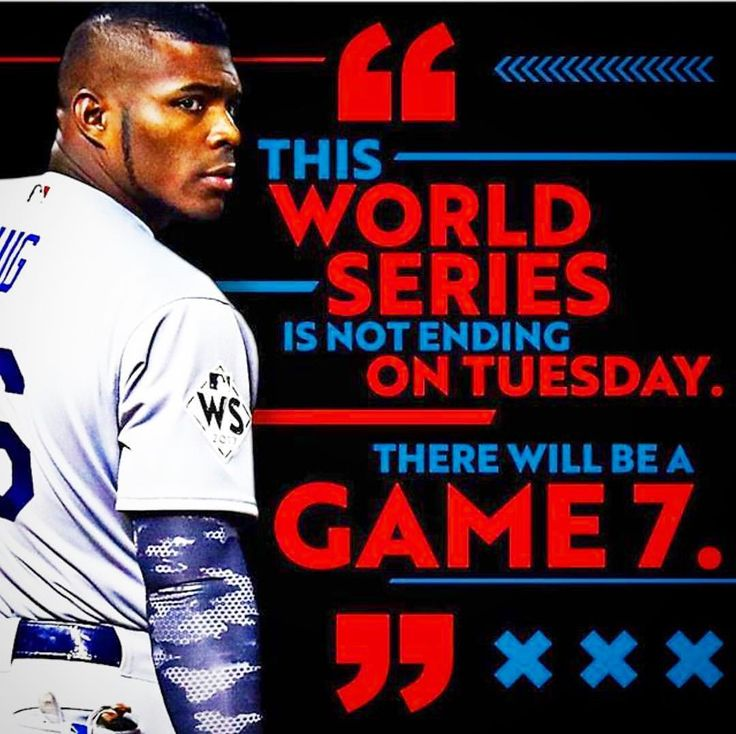 """@yasielpuig Speak it INTO TRUTH Man!! This Series is FAR from over!! As Jay-Z Said, """"I WILL NOT LOSE""""! #Dodgers #YasielPuig #ThisTeam #Game6 #WorldSeries #DodgerBlue"""