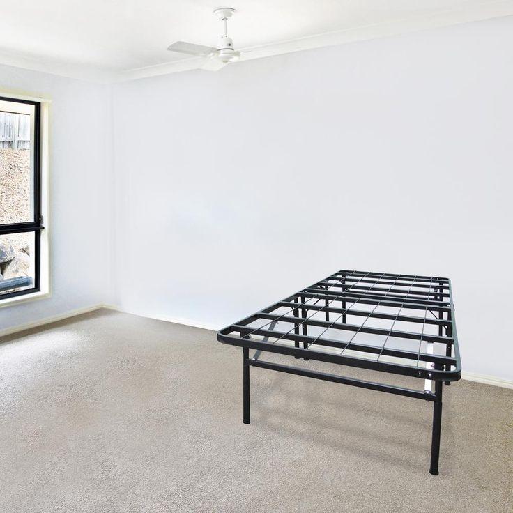 Infiniflex Queen Metal Bed Frame, Black