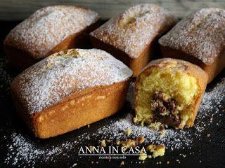 Anna in Casa: ricette e non solo: Mini plumcake cuore goloso