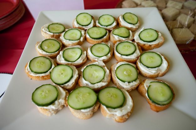 cucumber sandwiches for party