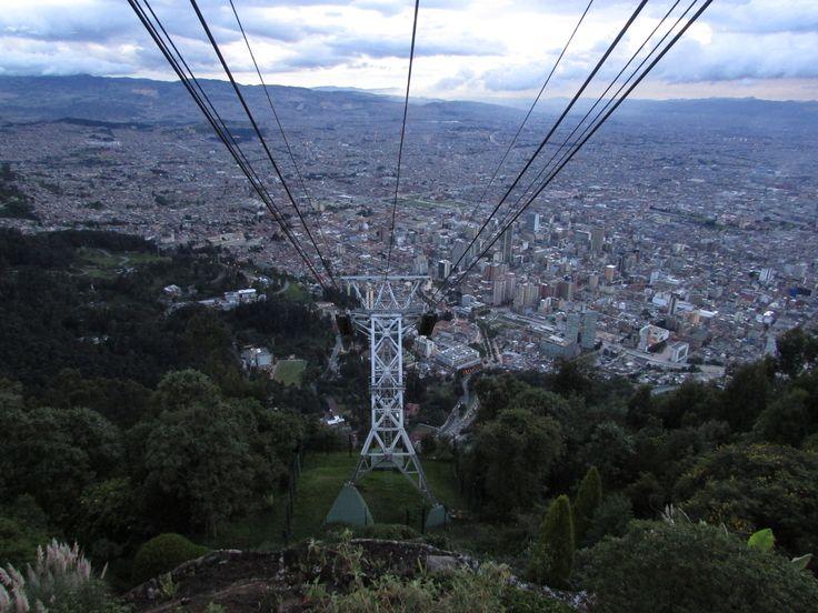 Monserrat tram, amazing views of Bogotá! http://www.cerromonserrate.com/